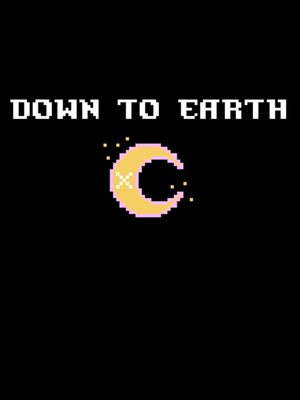 Cover for Down to Earth.