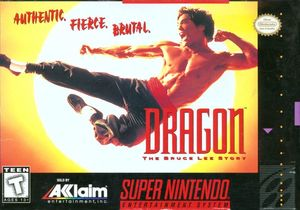 Cover for Dragon: The Bruce Lee Story.