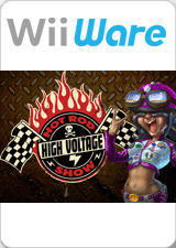 Cover for High Voltage Hot Rod Show.