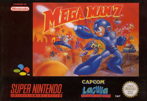Cover for Mega Man 7.