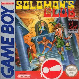 Cover for Solomon's Club.