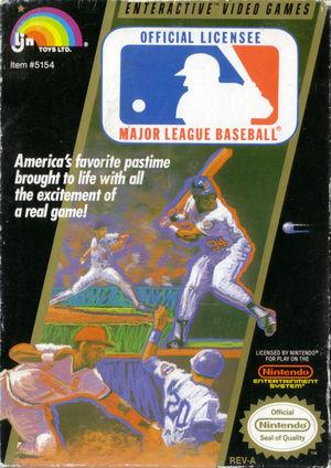 Cover for Major League Baseball.