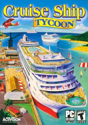 Cover for Cruise Ship Tycoon.