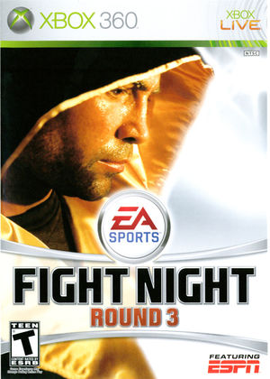 Cover for Fight Night Round 3.