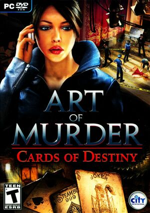 Cover for Art of Murder: Cards of Destiny.