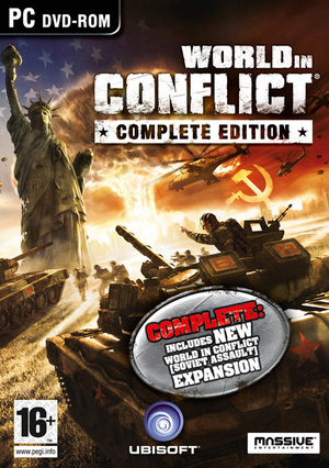 Cover for World in Conflict.