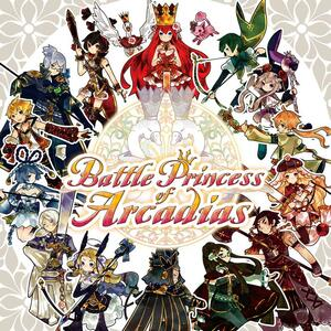 Cover for Battle Princess of Arcadias.