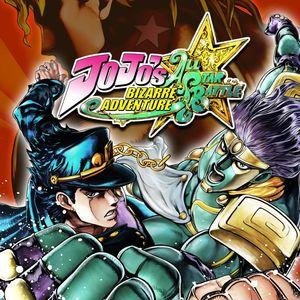 Cover for JoJo's Bizarre Adventure: All Star Battle.