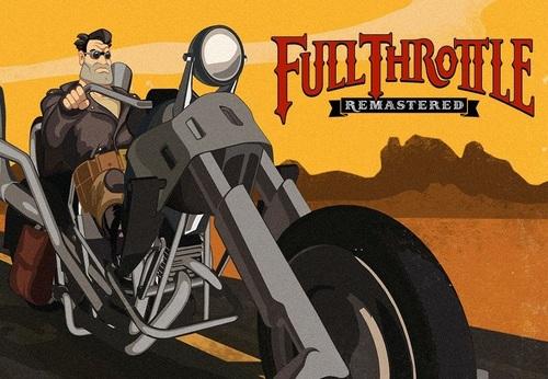Cover for Full Throttle: Remastered.