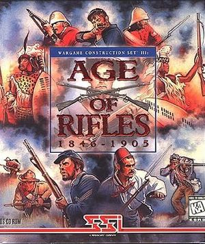 Cover for Wargame Construction Set III: Age of Rifles 1846-1905.