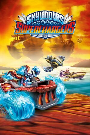 Cover for Skylanders: SuperChargers.