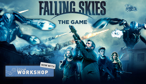 Cover for Falling Skies: The Game.