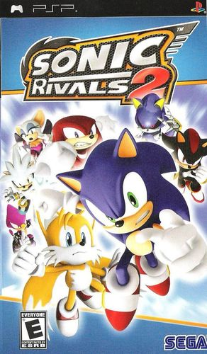 Cover for Sonic Rivals 2.