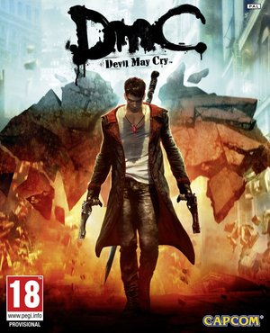 Cover for DmC: Devil May Cry.