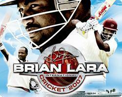 Cover for Brian Lara International Cricket 2007.