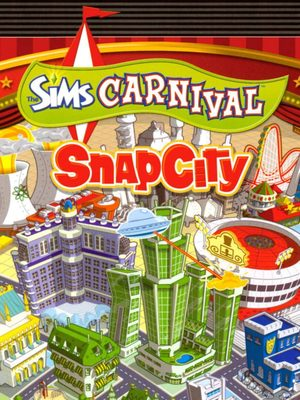 Cover for The Sims Carnival: Snap City.