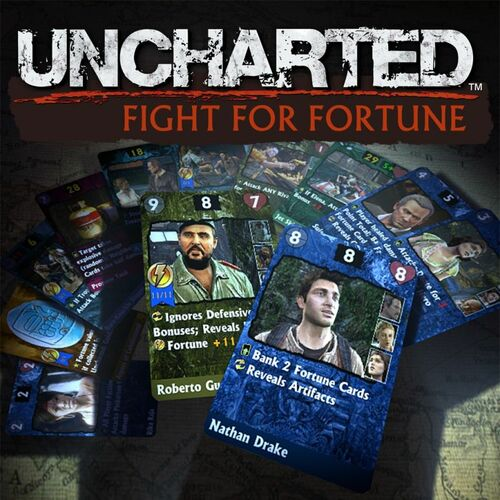 Cover for Uncharted: Fight for Fortune.
