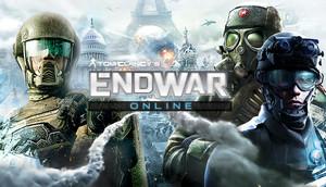 Cover for Tom Clancy's EndWar Online.