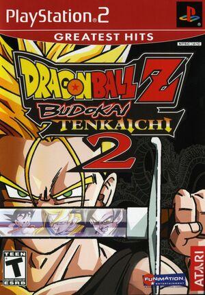 Cover for Dragon Ball Z: Budokai Tenkaichi 2.