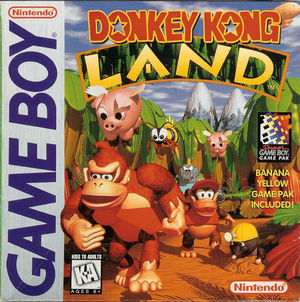 Cover for Donkey Kong Land.