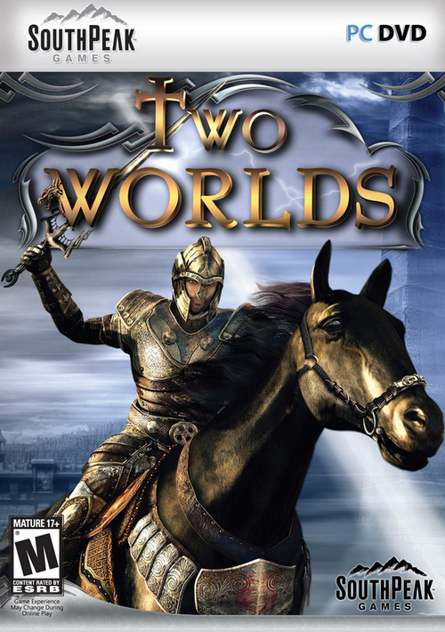 Cover for Two Worlds.