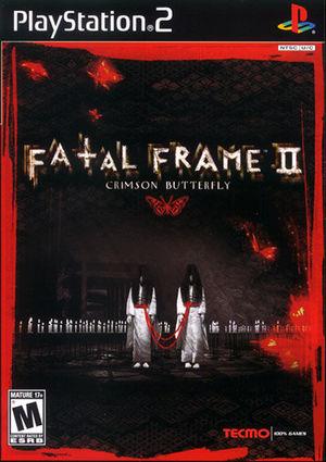 Cover for Fatal Frame II: Crimson Butterfly.