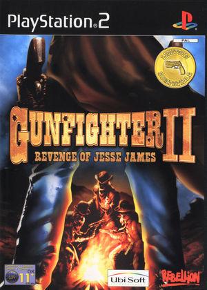 Cover for Gunfighter II: Revenge of Jesse James.
