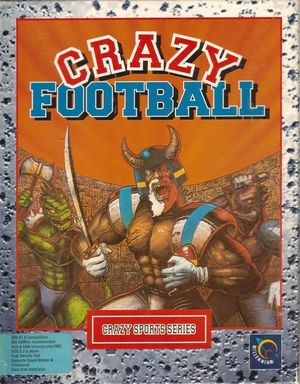 Cover for Brutal Sports Football.
