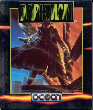 Cover for Darkman.