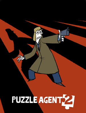 Cover for Puzzle Agent 2.
