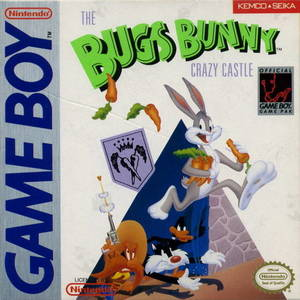 Cover for The Bugs Bunny Crazy Castle.