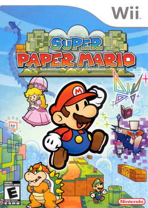 Cover for Super Paper Mario.
