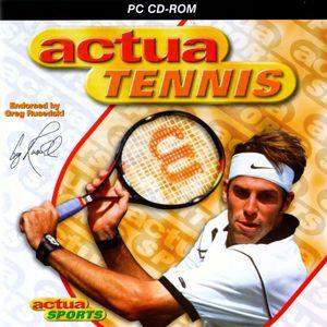 Cover for Actua Tennis.