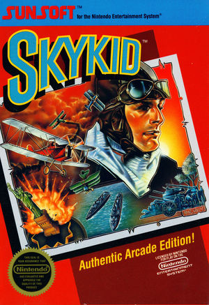 Cover for Sky Kid.