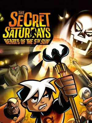 Cover for The Secret Saturdays: Beasts of the 5th Sun.