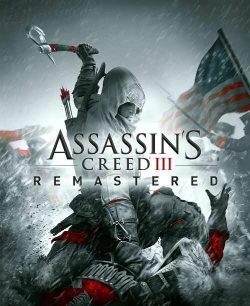 Cover for Assassin's Creed III Remastered.