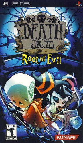 Cover for Death Jr. II: Root of Evil.