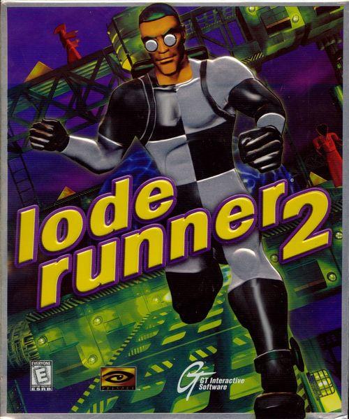 Cover for Lode Runner 2.