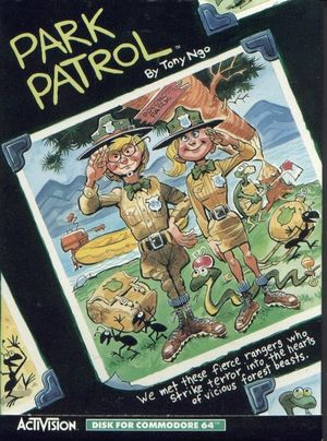 Cover for Park Patrol.
