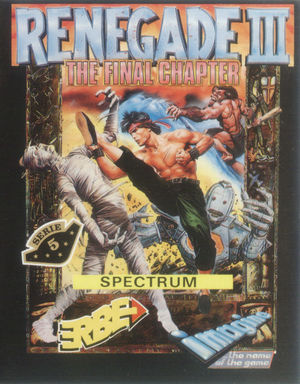 Cover for Renegade III: The Final Chapter.