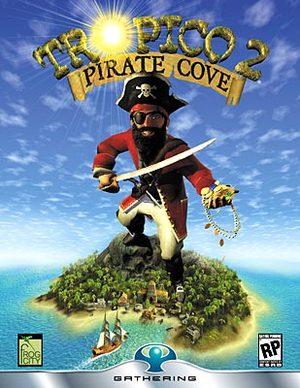 Cover for Tropico 2: Pirate Cove.