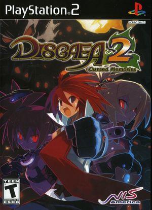 Cover for Disgaea 2: Cursed Memories.