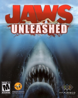 Cover for Jaws Unleashed.
