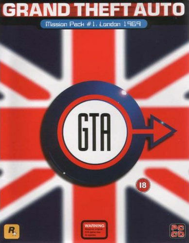 Cover for Grand Theft Auto: London, 1961.
