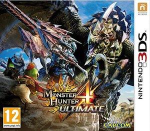 Cover for Monster Hunter 4 Ultimate.