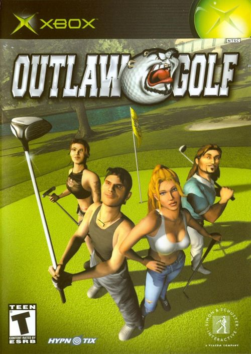 Cover for Outlaw Golf.