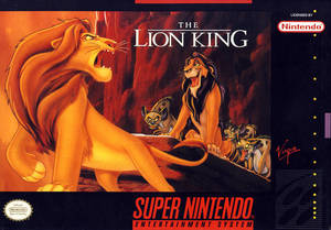 Cover for The Lion King.