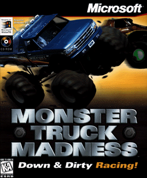 Cover for Monster Truck Madness.