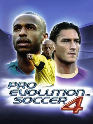 Cover for Pro Evolution Soccer 4.
