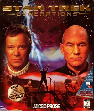 Cover for Star Trek Generations.